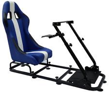 Sedia postazione gioco sedile game regolabile guida PC Ps4 Ps3 Xbox pelle vari c