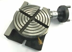 """4"""" Inches (100 mm) Quality Regular Rotary Table for Milling Machines Tools"""