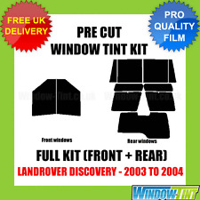 LANDROVER DISCOVERY 2003-2004 FULL PRE CUT WINDOW TINT KIT