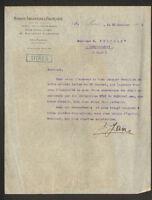 """PARIS (VIII°) BANQUE """"ARGENTINE & FRANCAISE"""" en 1911"""