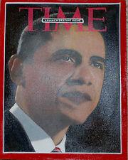 President Obama Time Magazine by Steve Kaufman SAK  ORIGINAL Painting  w/COA