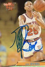 Doc Rivers Boston Celtics Signed Auto Card JSA.Spence