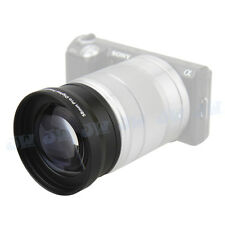 58MM 2.0X Telephoto Zoom Lens for SONY Sony Alpha NEX 5 6 7 5R 5N+18-55MM LENS