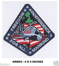 ARMAGEDDON FREEDOM FILM CREW PATCH - ARM04