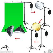 Pro Photo Studio Softbox Lighting Boom Arm Stand Video Hair Light Kit