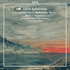 Kallstenius / Beermann / Helsingborg Sym Orch - Symphonic Works [New CD]
