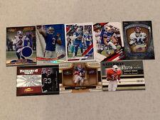 Buffalo Bills 8 Card Football Lot Rookies Jersey Auto Allen Thomas Lynch