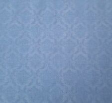 "1 yd 21"" On Top of the World Santoro Quilting Treasures Blue Brocade Print"