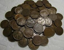 2 ROLLS OF 1918 S SAN FRANCISCO LINCOLN WHEAT CENTS FROM PENNY COLLECTION