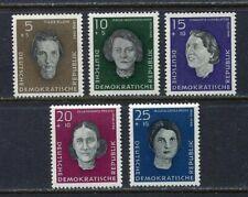 31314) DDR 1959 MNH** Famous Women 5v. Scott# B49/53