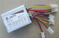 24V 500W Speed Controller Box Electric Bikes Mopeds Go Karts Scooters Brushed