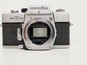 Minolta SRT 101 Mechanical 35mm SLR Camera, Body Only (See description)