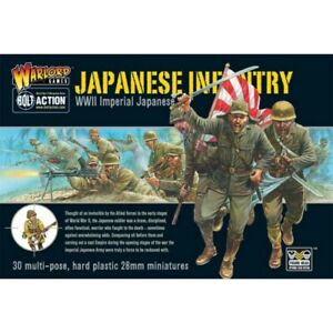 Warlord Games Bolt Action Imperial Japanese Infantry Plastic Boxed Set