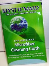 Mystic Maid Original Microfiber Cleaning Cloths Kitchen Bath Eco Friendly Teal