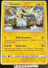 Carte Pokemon ZERAORA 60/214 RARE Soleil et Lune 10 SL10 FR NEUF