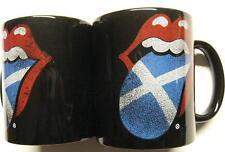 "ROLLING STONES TASSE ""TONGUE SCOTLAND"" KAFFEETASSE - MUG"