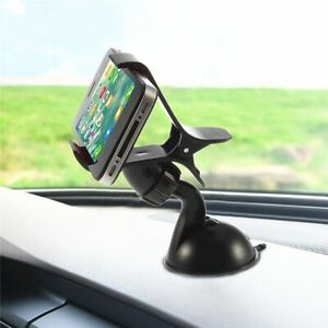 In Car Mobile Phone Holder Suction Mount Clip Grip Clamp Dashboard Windscreen