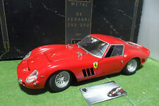 RARE FERRARI 250 GTO 1964 rouge 1/12 REVELL 8850 voiture miniature de collection