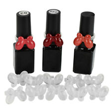 Fa- 50x Diy Nail Polish Color Swatch Display Card Ring Butterfly Practice Rings