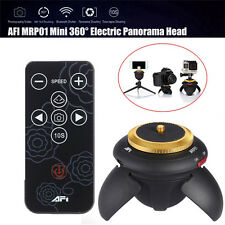 AFI MRP01 Mini 360° Electric Panorama Tripod Head+Remote Control Camera SLR. PK