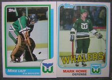 Hartford Whalers - (59) different cards - 1979-1988 Topps & Opchee - Ron Francis