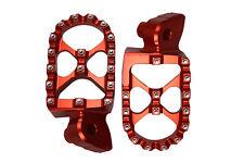 ORANGE MX Motocross Footrests Foot Pegs KTM SX EXC 65 125 250 300 450 520 525