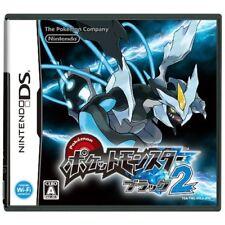New DS Pokemon Black 2 DSi Enhanced  Japan Import