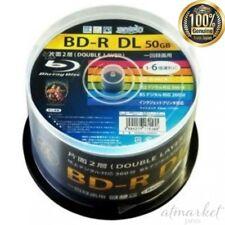 NEW MAG-LAB HI-DISC BD-R (DL/50/6x speed) HDBDRDL260RP50 genuine from JAPAN