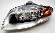 Genuine OEM 2005-2009 Audi A4 S4 Left Halogen Headlamp Headlight Lens Crack