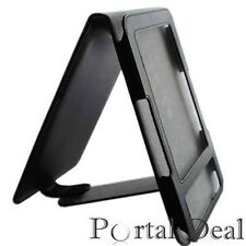 BLACK LEATHER CASE COVER FOR AMAZON KINDLE 3 3G WIFI