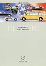 Mercedes Benz Prospekt 2001 3/01 D GB Classic Collection Modellautokatalog