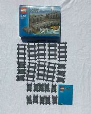 Lego City Flexible and Straight Train Tracks 7499 (100% Complete with Leaflet)