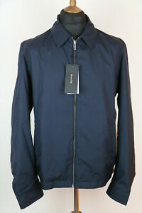 MASSIMO DUTTI mens reversible jacket navy/brown  size XL,UK L
