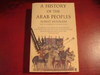 ALBERT HOURANI - `A HISTORY OF THE ARAB PEOPLES` - FABER - EXCELLENT CONDITION