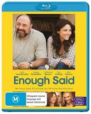 Enough Said (Blu-ray, 2014) NEVER PLAYED & SEALED