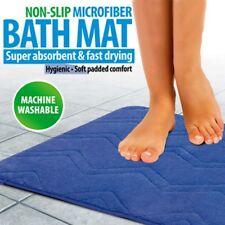 NON-SLIP MICROFIBER BATH MAT BLUE IDEAWORKS