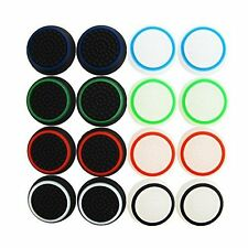 Pack of 16pcs Thumb Grip Noctilucent Sets for PS2 PS3 PS4 Xbox 360/ONE