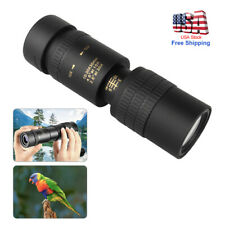 10-30X30mm Zoom Monocular Telescope Bak4 Prism Super Telephoto Portable Ourdoor