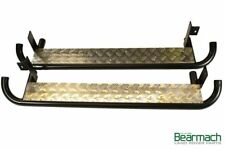 Land Rover Defender 90 Anti Slip Chequer Plate Side Runners / Steps - Bearmach