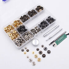 boutons-pression robustes Press Rivets à coudre Couture Vêtements en cuir