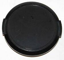Front Lens Cap 52mm snap on type generic black plastic