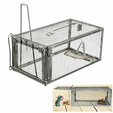 Rodent Animal Mouse Humane Live Trap Hamster Cage Mice Rat Control Catch Bait EM