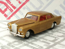 Meccano Dinky Rolls Royce Silver Cloud III 1:43 good, no box, gold