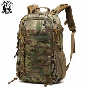 Outdoor Tactical Shoulder Backpack Assault Rucksack Trekking Hiking Cordura Bags