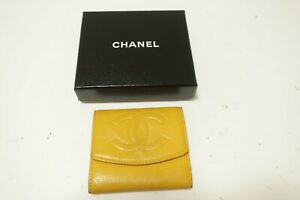 Authentic CHANEL Caviar Leather CC Wallet  #9862