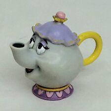 Mrs Potts Teapot Tea Pot figure toy figurine Beauty and the Beast Disney Flawed