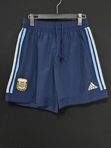 2002-03 Argentina Away Football Shorts Soccer Size:L *Excellent Condition*