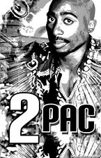 "2PAC ""Black Light"" Poster"