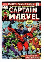 CAPTAIN MARVEL #31 VF/NM 8.5-9.0 THANOS MOONDRAGON AVENGERS (Marvel, 1973)