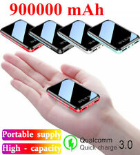 Mini Portable Power Bank 900000mAh USB External Battery Charger For Mobile Phone